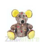 בובת עכבר עם כתמים לכלב